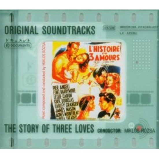 OST-Soundtrack-The-Story-of-Three-Loves-MIKLOS-ROZSA-CD-NEU-OVP